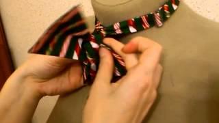 Как завязать гастук бабочку