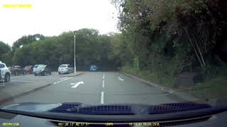 2018-09-08 - look before pulling out of a junction