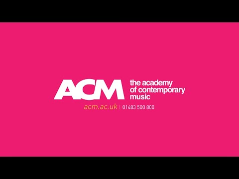 This Is ACM, The Academy of Contemporary Music  An Introduction