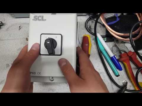 a 40a doublepole changeover switch and its uses