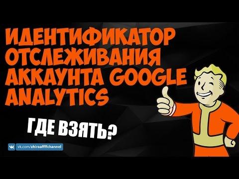 Идентификатор отслеживания аккаунта Google Analytics