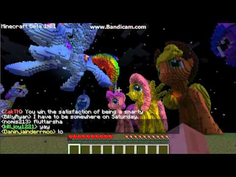 Minecraft my little pony server youtube sciox Choice Image