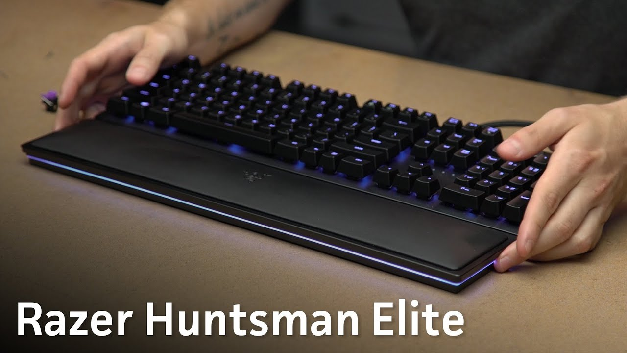 6af3cb92268 Razer Huntsman Elite review: Fast and furious opto-mechanical switches