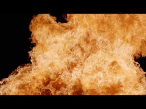 Big Fire - Flame Chroma Key effect - Free HD Video Stock Footage
