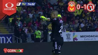 ¡Xolos está en semis! | Morelia 0 - 1 Tijuana | Copa Mx - Cuartos - Cl 19 | Televisa Deportes