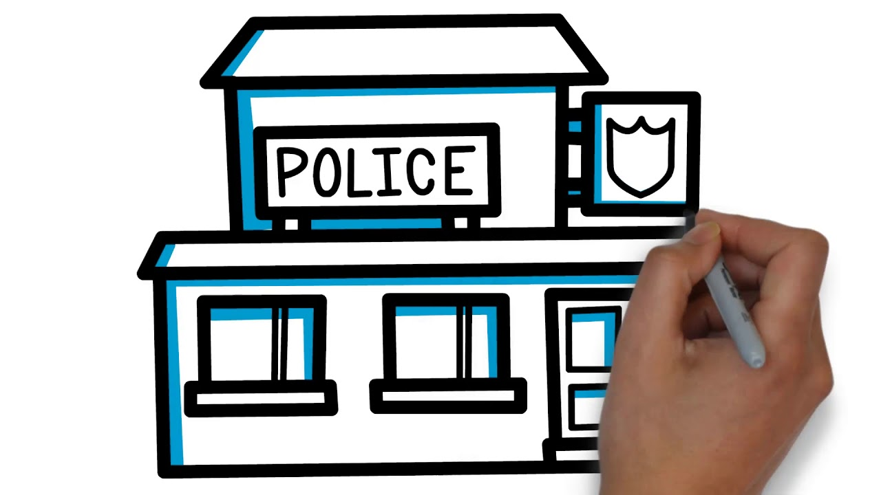 how to draw police station for kids youtube videos for kids youtube rh youtube com police station pictures clip art police station pictures clip art