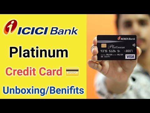 Icici Bank Platinum Credit Card Unboxing Benifits ¦Icici Bank Platinum Credit Card Benefits Charges