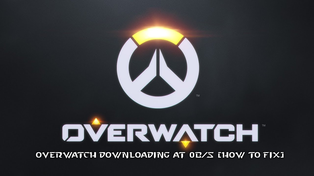 overwatch download slow