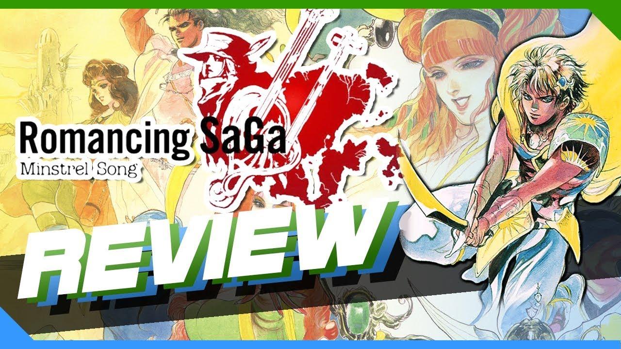 Romancing SaGa : Minstrel Song Review (PS2)