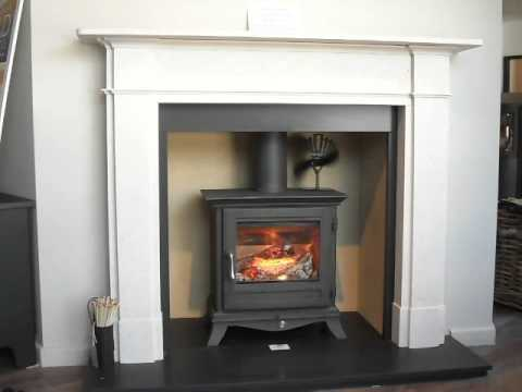 Chesney Beaumont 5kw Stove And Devonshire Fireplace Youtube