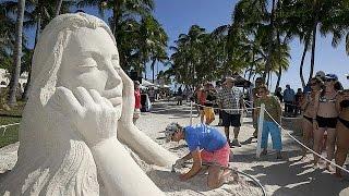 ΗΠΑ: Διεθνής διαγωνισμός για γλυπτά από άμμο