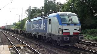 Trains at Hamburg-Harburg 21 august 2018 part 2