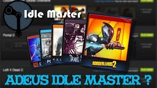 ADEUS IDLE MASTER ? STEAM MUDA SISTEMA DE CARTAS