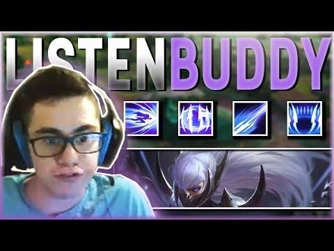 LISTEN BUDDY LISTEN BUDDY LISTEN BUDDY