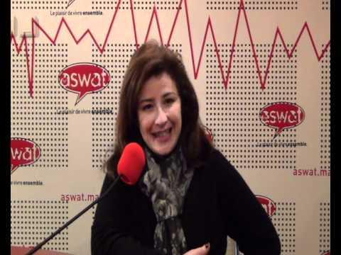 5ème anniversaire d'aswat   Voeux par Sanaa Zaim