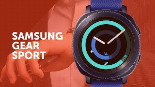 Samsung Gear Sport - универсальные спортивные часы