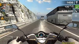 Racing Fever: Moto Full Upgrade Moto Highway Traffic Android Gameplay #1