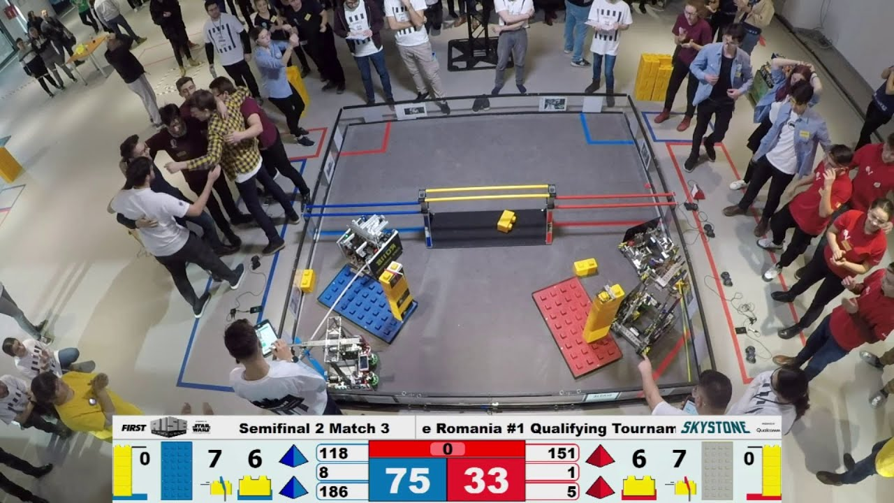 First Tech Challenge Romania 2020 Qualifying Tournaments Cluj Napoca Day 2 Youtube