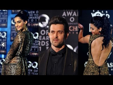 Bollywood Celebrities At Red Carpet GQ India 'Men Of The Year' Awards Ceremony- UNCUT