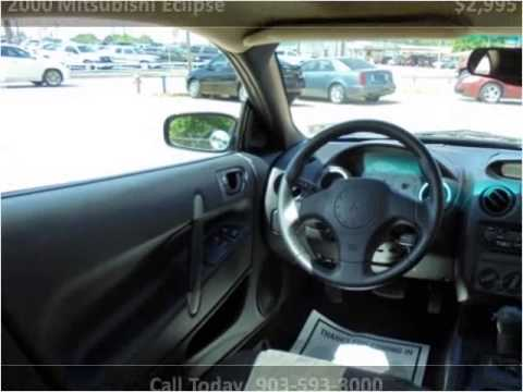 2000 Mitsubishi Eclipse Used Cars Tyler TX