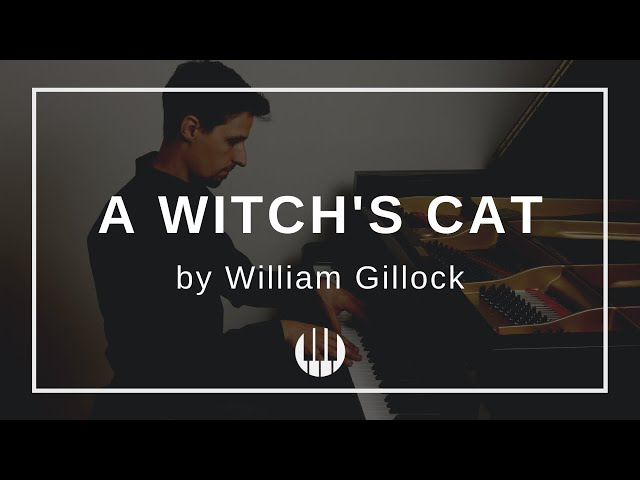 A Witch's Cat by William Gillock