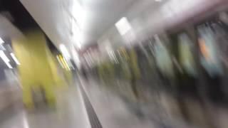 港鐵沙中線新車不載客駛入南昌站