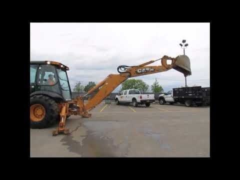 For Sale 2011 Case 590SN 4WD Backhoe Loader A/C Cab E-Stick Aux Hyd bidadoo.com