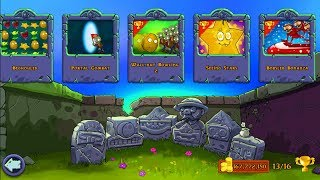Best strategy Plants vs Zombies New Update | Puzzle Last Stand Roof