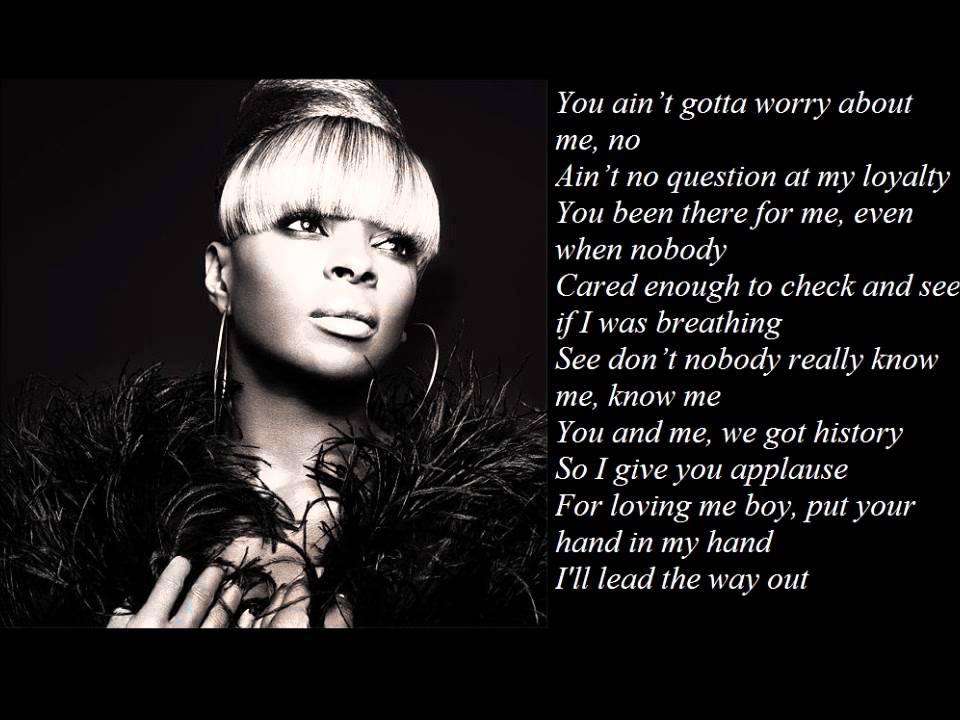 Mary J. Blige Song Lyrics
