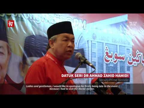 """""""They are forgiven"""", says Zahid Hamidi"""