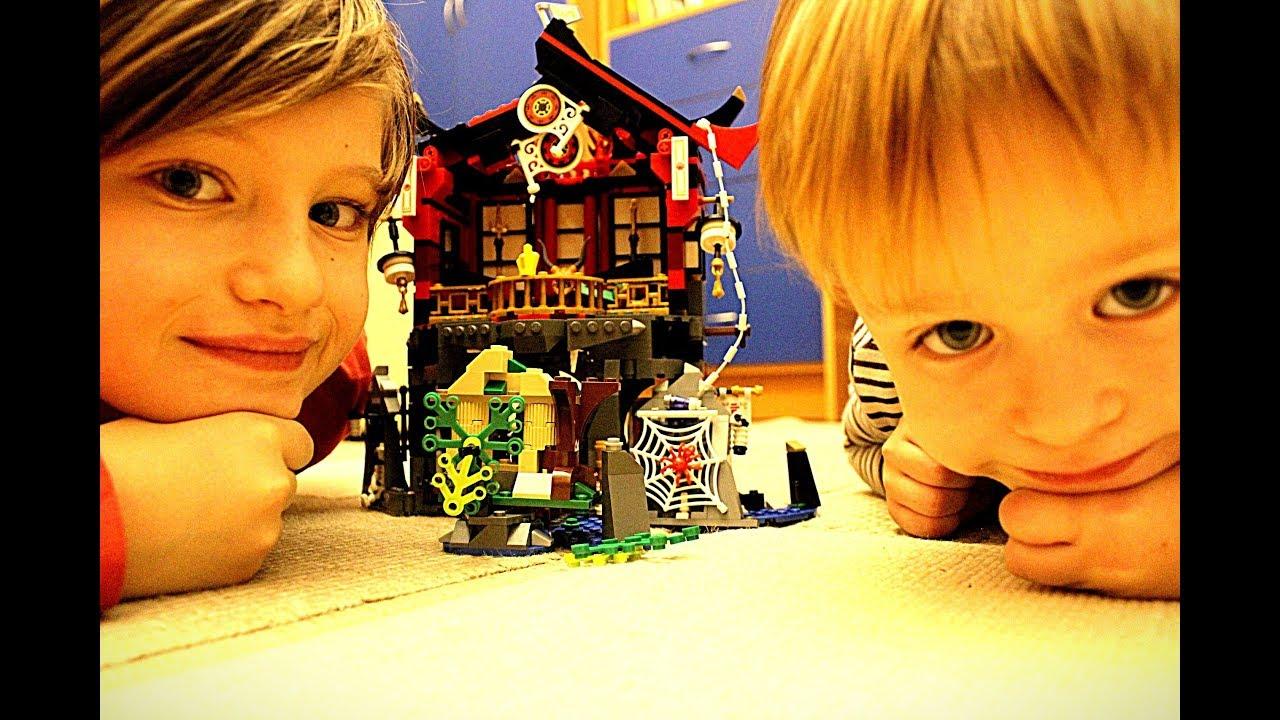 Лего ниндзяго город Конструктор для мальчиков Игрушки 2018 Гришка и Тимка Lego Ninjago set