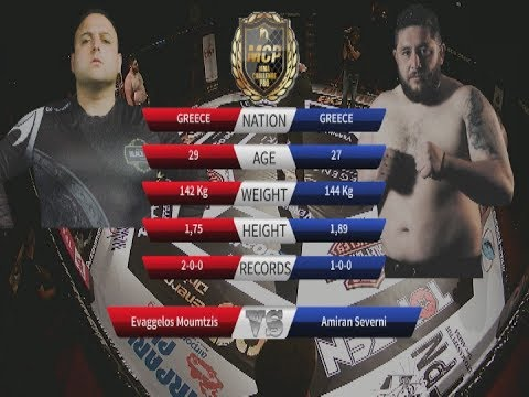 "SEVERNI ""Amiran"" vs MOUMTZIS MCP8 MMA GREECE"