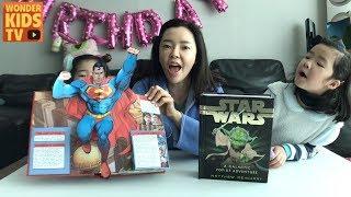 영웅을 만나다 슈퍼맨과 원더우먼, 배트맨, 스타워즈를 팝업북으로 만나다 l dc heroes & starwars pop-up book l kids pop-up book