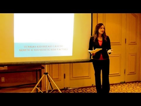 Runsi Sen - presentation at the genetic counseling conference