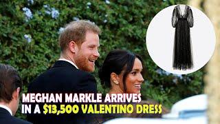 Meghan Markle Wore a Gorgeous Black Dress to Misha Nonoo's Wedding