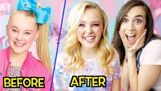 JOJO SIWA GETS A DRAMATIC MAKEOVER!
