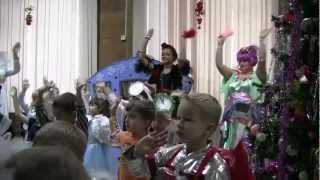 Детский Новый год в центре Романтик Щелково Ступеньки