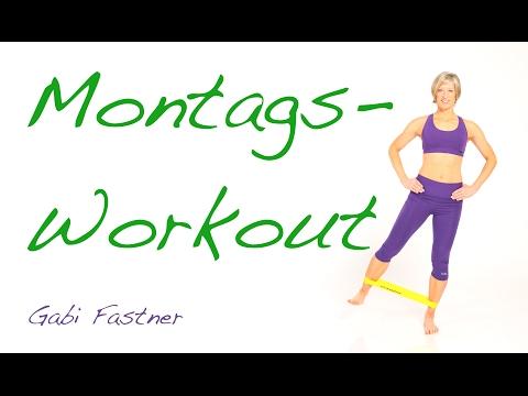 25 min. Home-Fitness mit dem Rubberband
