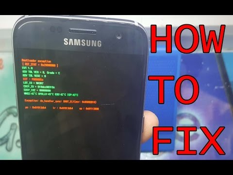 How To Fix bootloader exeption On Samsung Mobile
