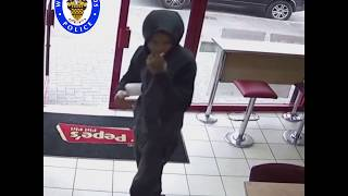 Killers caught on camera buying chicken and chips after murder
