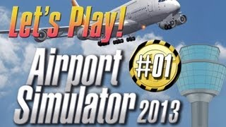 Lets Play Airport Simulator 2013  Fahrzeuge kennenlernen