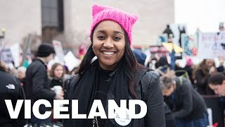 VICELAND At The Women's March: Voices From the March