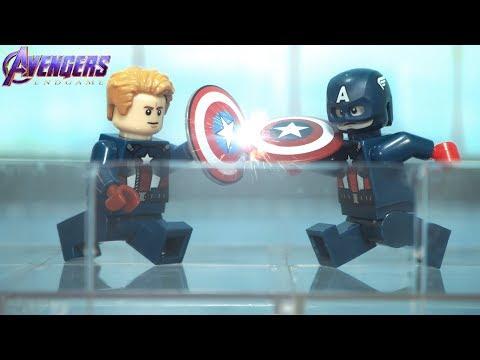 LEGO Avengers Endgame Captain America VS Captain America Lego Stop Motion
