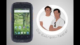 Outdoor-Smartphone im Extrem-Test: Kann man es zerstören?