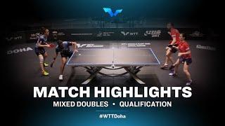 M. Batra & A. Kamal vs A. Shibaev/P. Mikhailova | WTT Contender Doha 2021 | XD | R32 Highlights