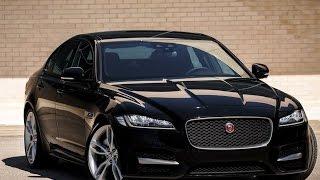 Новый Jaguar XF 2 поколение британского седана смотреть