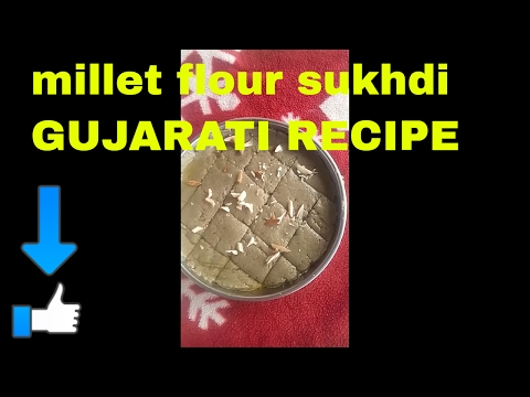 millet-|-flour-|-barfi-|-sweet-food-|