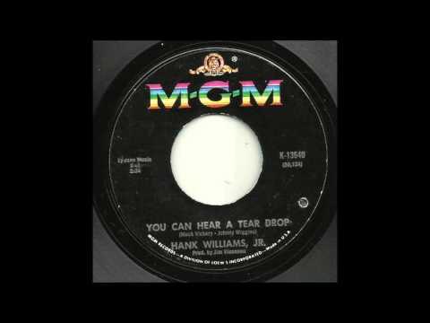 Hank Williams Jr - You Can Hear A Tear Drop