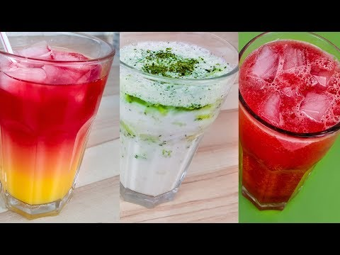 3 Iftar Drinks Ramadan  |  رمضان  نوشیدنی برای