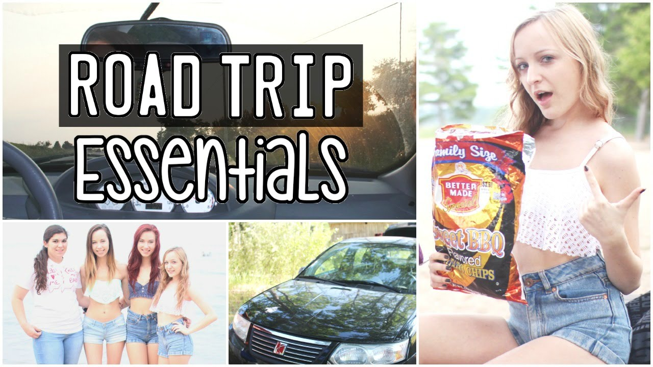 What To Bring On A Road Trip Youtube
